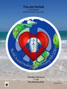 World Sound Healing Day event